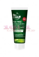 FARMASI DR. TUNA  TEA TREE OIL CREMA PENTRU CORP SI MAINI