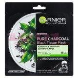 GARNIER PURE CHARCOAL BLACK TISSUE MASK MASCA NEAGRA