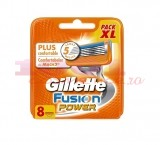 GILLETTE FUSION POWER REZERVE APARAT RAS SET 8