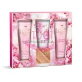 GRACE COLE THE LUXURY BATHING COMPANY SET PINK PEONY & VETIVER 3 CREME DE MAINI 50 ML