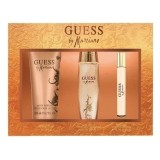 GUESS BY MARCIANO WOMEN EDT 100 ML + BODY LOTION 200 ML + TRAVEL SPRAY 15 ML SET