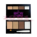 MAKEUP REVOLUTION I LOVE MAKEUP BROWS KIT PENTRU SPRANCENE