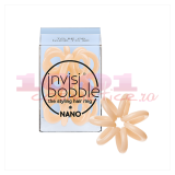 INVISIBOBBLE TRACELESS MINI HAIR RING INEL PENTRU PAR CREM
