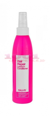 KALLOS HAIR REPAIR LEAVE-IN CONDITIONER BALSAM REGENERATOR CARE RAMANE IN PAR