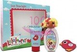 LALALOOPSY MITTENS DOT STARLIGHT EDT 100 ML + GEL DE DUS 75 ML + AGRAFA SET