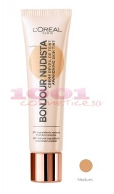 LOREAL BONJOUR NUDISTA BB CREAM MEDIUM
