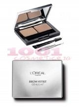 LOREAL BROW ARTIST GENIUS KIT PENTRU SPRANCENE LIGHT TO MEDIUM 01