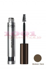LOREAL BROW ARTIST PLUMPER GEL MASCARA PENTRU SPRANCENE MEDIUM / DARK