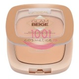 LOREAL GLAM BEIGE GLOW POWDER PUDRA LIGHT / CLAIR
