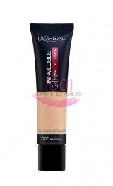 LOREAL INFAILLIBLE 24H MATTE COVER FOND DE TEN GOLDEN SAND 200