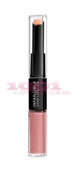 LOREAL INFAILLIBILE 2 STEP 24H RUJ ULTRAREZISTENT 110 TIMELESS ROSE