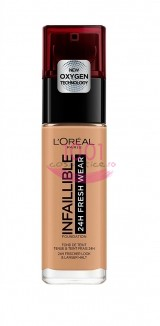 LOREAL INFAILLIBLE 24H FRESH WEAR FOND DE TEN AMBRE DORE 290