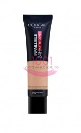 LOREAL INFAILLIBLE 24H MATTE COVER FOND DE TEN ROSE BEIGE 145