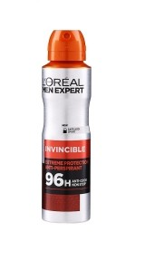 LOREAL MEN EXPERT INVINCIBLE EXTREM PROTECTION 96H ANTIPERSPIRANT SPRAY