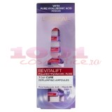 LOREAL REVITALIFT FILLER FIOLE CU PURE ACID HYALURONIC + VITAMIN B5 SET 7 FIOLE