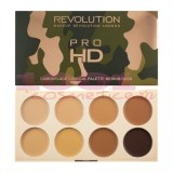 MAKEUP REVOLUTION PRO HD CAMOUFLAGE CONCEAL PALETTE MEDIUM DARK