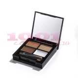 MAKEUP REVOLUTION I LOVE MAKEUP FOCUS & FIX EYEBROW SHAPING KIT PENTRU SPRANCENE MEDIUM DARK