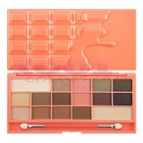 MAKEUP REVOLUTION I LOVE REVOLUTION CHOCOLATE AND PEACHES EYESHADOW PALETA FARDURI