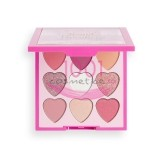MAKEUP REVOLUTION I LOVE REVOLUTION PALETA MINI HEART BREAKERS SWEETHEART 9 FARDURI