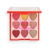 MAKEUP REVOLUTION I LOVE REVOLUTION PALETA MINI HEART BREAKERS COURAGE 9 FARDURI