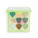 MAKEUP REVOLUTION I LOVE REVOLUTION PALETA MINI HEART BREAKERS LUCKY 9 FARDURI