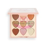 MAKEUP REVOLUTION I LOVE REVOLUTION PALETA MINI HEART BREAKERS MAJESTIC 9 FARDURI
