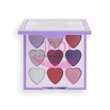 MAKEUP REVOLUTION I LOVE REVOLUTION PALETA MINI HEART BREAKERS MYSTIC 9 FARDURI