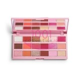 MAKEUP REVOLUTION I LOVE REVOLUTION STRAWBERRY CHEESECAKE PALETA FARDURI 18 NUANTE