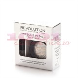 MAKEUP REVOLUTION LONDON AWESOME METALS EYE FOIL FINISH PURE PLATINUM