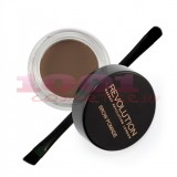 MAKEUP REVOLUTION LONDON BROW POMADE GEL PENTRU SPRACENE ASH BROWN