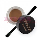 MAKEUP REVOLUTION LONDON BROW POMADE GEL PENTRU SPRACENE CARAMEL BROWN