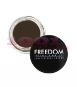 MAKEUP REVOLUTION LONDON BROW POMADE GEL PENTRU SPRACENE EBONY