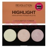 MAKEUP REVOLUTION LONDON HIGHLIGHTER PALETTE HIGHLIGHT