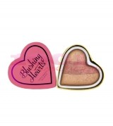 MAKEUP REVOLUTION LONDON I HEART MAKEUP BLUSHING HEARTS TRIPLE BAKED PEACHY KEEN HEART