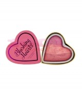 MAKEUP REVOLUTION LONDON I HEART MAKEUP BLUSHING HEARTS TRIPLE BAKED BLUSHING HEART