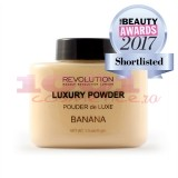 MAKEUP REVOLUTION LONDON LUXURY POWDER BANANA PUDRA PULBERE MATIFIANTA