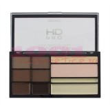 MAKEUP REVOLUTION LONDON PRO HD CONTOUR AND HIGHLIGHTERS AND BROW PALETTE