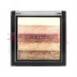 MAKEUP REVOLUTION LONDON SHIMMER BRICK RADIANT