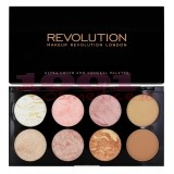 MAKEUP REVOLUTION LONDON ULTRA BLUSH PALETTE GOLDEN SUGAR
