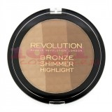 MAKEUP REVOLUTION LONDON ULTRA BRONZE SHIMMER AND HIGHLIGHT