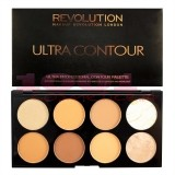 MAKEUP REVOLUTION LONDON ULTRA CONTOUR PALETTE MEDIUM DARK