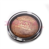MAKEUP REVOLUTION LONDON VIVID BAKED BRONZE READY TO GO