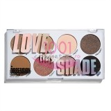 MAKEUP REVOLUTION MAKEUP OBSESSION LOVE EVERY SHADE PALETA 8 NUANTE FARD DE PLEOAPE