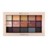 MAKEUP REVOLUTION MYSIGN  PRESSED AND BAKED EYESHADOWS EARTH PALETTE