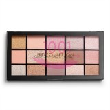 MAKEUP REVOLUTION RELOADED FUNDAMENTAL EYESHADOW PALETA FARDURI 15 NUANTE