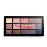 MAKEUP REVOLUTION RELOADED SMOKY NEUTRALS EYESHADOW PALETA FARDURI 15 NUANTE
