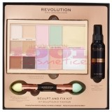 MAKEUP REVOLUTION SCULPT AND FIX KIT PENTRU MAKEUP