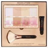 MAKEUP REVOLUTION STROBE AND HIGHLIGHT KIT PENTRU MAKEUP