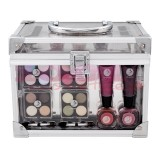 MAKEUP TRADING SET COSMETICE TRANSPARENT CRYSTAL BEAUTY
