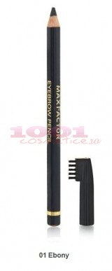 MAX FACTOR EYEBROW PENCIL CREION PENTRU SPRANCENE 01 EBONY